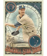 2019 Topps Allen and Ginter Baseball Star Signs #BSS26 Randy Johnson  - $0.50