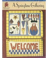 A SPRINGTIME GATHERING   tole painting Book   Lots Of  BUNNIES NEW - $7.99