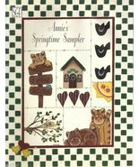 ANNIE'S SPRINGTIME SAMPLER  by Annie Dill Tole Painting Pattern Book  NEW - $7.99