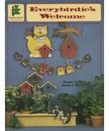 Everybirdie's Welcome by  Kristin Cook  Tole Painting Pattern Book - $6.99