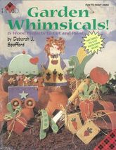 GARDEN WHIMSICALS  by Deborah J. Spofford Tole Painting Pattern Book - $5.99