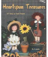 HEARTSPUN TREASURES by A. Jacquelyn  tole / decorative painting Book  NEW - $8.99