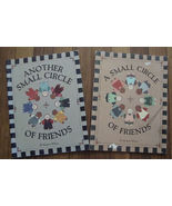 LOT Small Circle Of Friends 1&2 by Margaret Wilburn   tole painting Patt... - $9.99