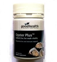 Oyster Plus Zinc and Taurine Marine Nutrient 60 Capsules Health and Vitality Die - $35.91