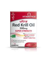 Red Krill Oil Vitamins. Heart Brain & Vision - 30 capsules - $16.00