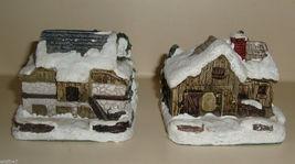 "LOT The American Rustic Series 1989 ""Blacksmith Shop"" 1989 ""Stone Barn""  - $7.99"