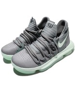 ☆ Nike Zoom KD 10 Kevin Durant GS Cool Gray Igloo White 918365 002 Size ... - $95.00
