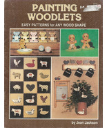 PAINTING WOODLETS   By Jean Jackson Tole Painting Pattern Book   - $1.99