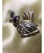 Vintage 1940's/50's Deltah Exotic Bird Brooch - $14.85