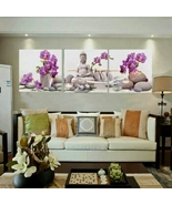 Buddha Rose 3 Piece Canvas Wall Decor - $34.87+