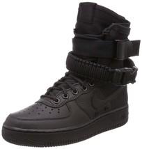 Women's Nike SF Air Force 1 Boots, 857872 002 Multiple Sizes Black/Black/Black - $149.95