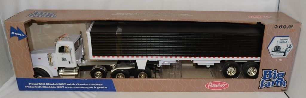 Tomy LP53318 Big Farm Peterbilt Semi Model 367 Grain Trailer