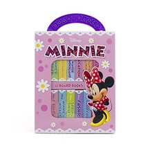 Disney Minnie Mouse - My First Library Board Book Block 12-Book Set - Gr... - $14.79