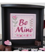 Be Mine cross stitch chart Designs by Lisa - $5.90
