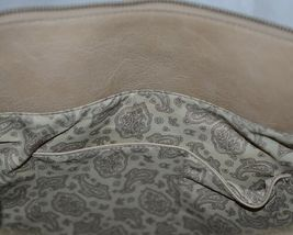 Simply Noelle HB1126A Birch Style Tan Taupe Floral Embossed Womens Purse image 6