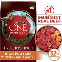 Premium Purina ONE SmartBlend True Instinct Natural Adult Dry Dog Food &... - $43.93