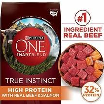 Premium Purina ONE SmartBlend True Instinct Natural Adult Dry Dog Food & 3.8... - $43.93