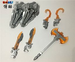 BOKU BK-01 Upgrade Kit Weapons Set W/ LED Light for Optimus Prime Leader... - $41.15