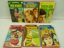 Sara Seale Harlequin Romance Paperback Book lot 6 vintage red edge  - $18.99