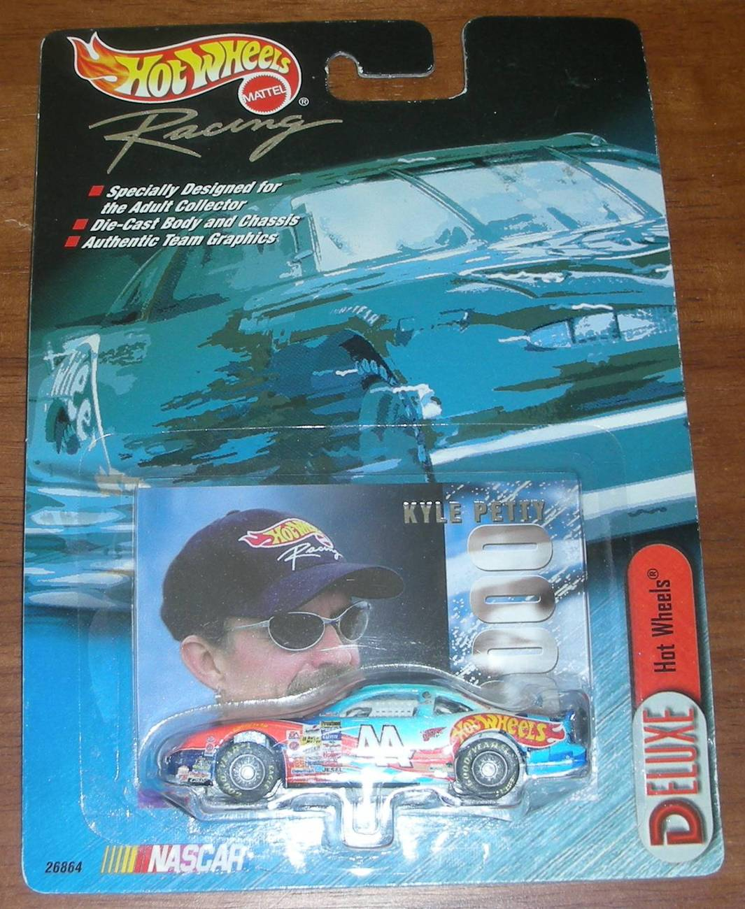 HOT WHEELS RACING KYLE PETTY #44
