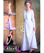 McCalls 9188 New Womens Dress 6 to 10 Wedding Dress Prom Alicyn Petite-able - $16.95