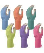 Atlas Gardening Gloves Assorted Colors 4 Pairs Size Small Nitrile Coated... - €33,76 EUR
