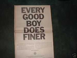 * 1970 ASCAP MEMBER POSTER TYPE PROMO AD