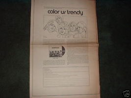 * 1970 SMALL FACES COLOR US TRENDY POSTER TYPE AD - $15.99