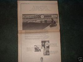 * 1970 MELANIE POSTER TYPE PROMO AD - $17.99