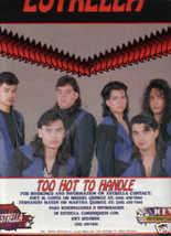 * 1991 ESTRELLA POSTER TYPE PROMO AD - $9.99