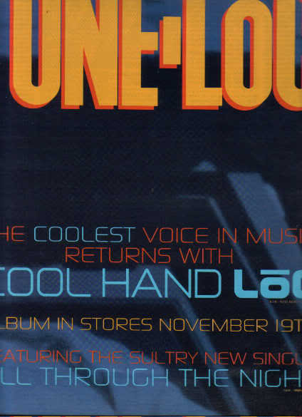 * 1991 TONE- LOC POSTER TYPE PROMO AD 2-PAGE