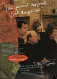 * 1991THE MANHATTAN TRANSFER PROMO AD