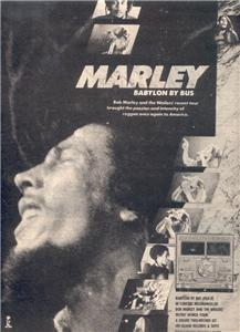1979 BOB MARLEY BABYLON BY BUS POSTER TYPE AD
