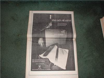1972 TRUTH OF TRUTHS POSTER TYPE AD