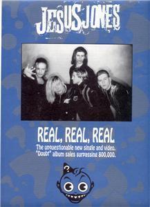 JESUS JONES POSTER TYPE AD