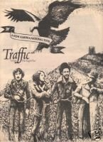 TRAFFIC WHEN THE EAGLE FLIES PROMO AD 1974
