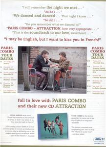 PARIS COMBO POSTER TYPE AD