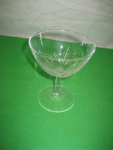 "Clear Crystal Glass Glassware Stemware Stem Wine Champagne Goblets 4.5"" - $1.93"