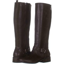 Franco Sarto Artesia Pointed Toe Slouch Knee High Boots 274, Light Brown Suede, - $82.55