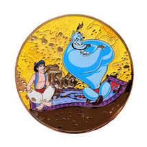 Aladdin Disney Lapel Pin: Your Wish is My Command - $200.00