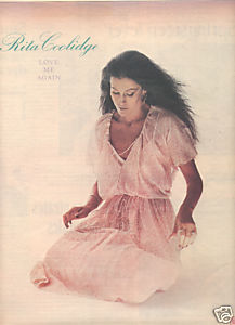 RITA COOLIDGE LOVE ME AGAIN POSTER TYPE PROMO AD 1978