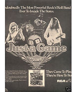 TRIUMPH JUST A GAME POSTER TYPE AD 1979 - $7.64