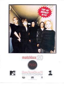 MATCHBOX 20 TWENTY ROB THOMAS PROMO AD