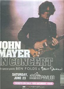 JOHN MAYER IN CONCERT AD BEN FOLDS