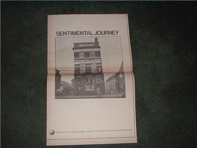 1970 RINGO STARR SENTIMENTAL JOURNEY POSTER TYPE AD