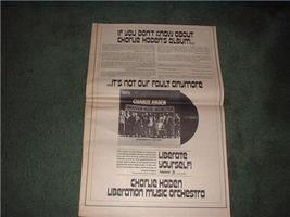 1970 CHARLIE HADEN POSTER TYPE AD - $18.99