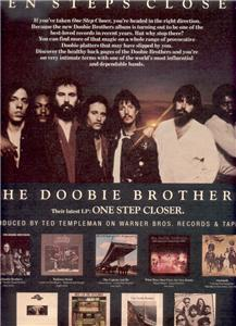 1980 THE DOOBIE BROTHERS ONE STEP CLOSER POSTER TYPE AD