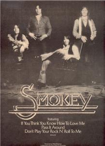 1975 SMOKEY POSTER TYPE AD
