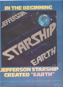 1978 JEFFERSON STARSHIP EARTH POSTER TYPE AD