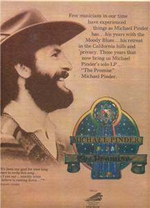 1976 MICHAEL PINDER THE PROMISE POSTER TYPE AD